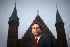 Den Haag portretfoto politicus