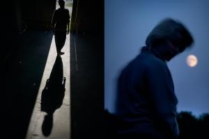 Anonieme portretfotografie