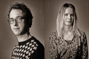 Studioportretten zwart-wit