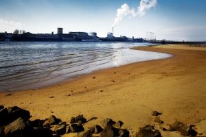 Industrieel-landschapsfotografie