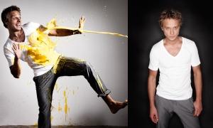 Fashion photo reportage