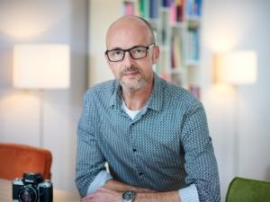 Zelfportret Jeroen Bouman, fotograaf